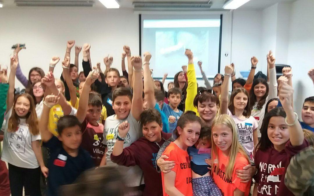 Trekking solidario en colegios zaragozanos
